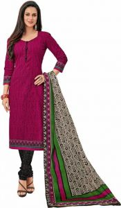 Dress Materials - Elegant Cotton Designer Printed Dress Material Salwar Suit (Code-PR1229)