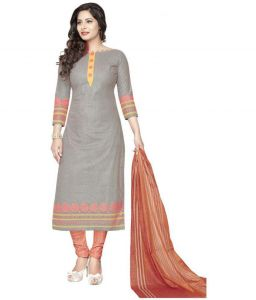 Elegant Cotton Designer Printed Dress Material Salwar Suit (code-rc1242)