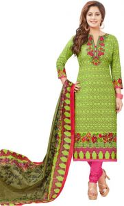 Elegant Cotton Designer Printed Dress Material Salwar Suit (code-rc1718)
