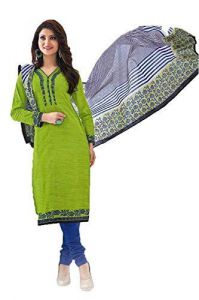 Dress Materials - Sbe Shree Ganesh Pranjul Pure Cotton Multi Color Dress Suit (prj_515)