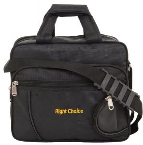 Right Choice Black Color Office Bag