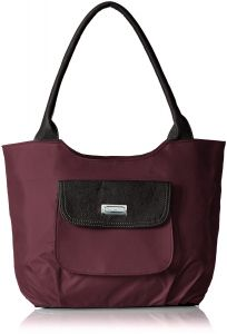 Right Choice Designer Maroon Color Handbag