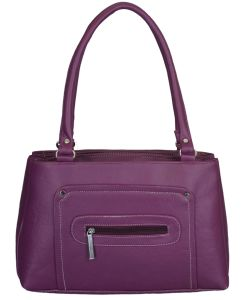 Right Choice Designer Purple Color Handbag