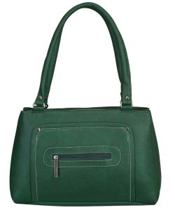 Right Choice Designer Green Color Handbag