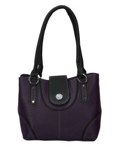 Right Choice Designer Purple Handbag