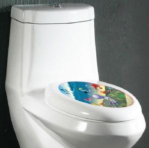 Wall stickers & decals - Sea Creature Bathroom & Toilet  Wall Sticker (21 cm X 29.7 cm)