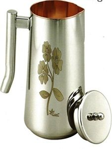 U S Expo Femina Lazer Art Stainless Steel Water Jug