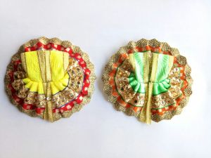 Bal Gopal Stone Work Attractive Poshak - 2 PCs