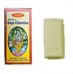 Gopi Chandan Tilak Powder, 140 Gms Pack Of 2 PCs With Sudha Roli(kumkum) 100gm