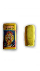 Scented Tilak Guru Chandan Gopi Chandan Sticks Yellow With Sudha Roli(kumkum)