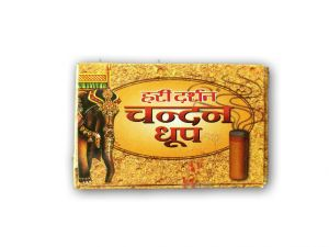 Dhoop - Hari Darshan Chandan Dhoop / Sandal Dhoop For All Religious Ceremonies - 6 Pcs