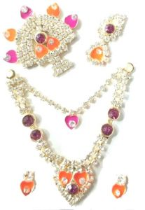 Shrinath Ji Shringar Set /laddu Gopal Mala Set/jewellery For Bal Gopal