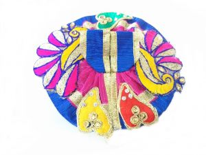 Faith & beliefs (Misc) - Elegent Pech Work Laddu Gopal Dress/ Beautiful Poshak For Bal Gopal (1 no)