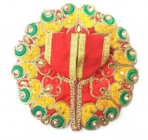 Heavy Designer Kundan Work Poshak / Laddu Gopal Poshak / Beautifull Poshak For Thakur Ji (2 No)