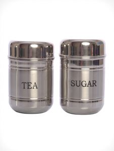 Tea Sugar Stainless Steel Canister / Container