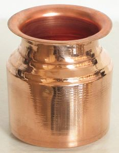 Copper Lota/kalash For Pooja Health