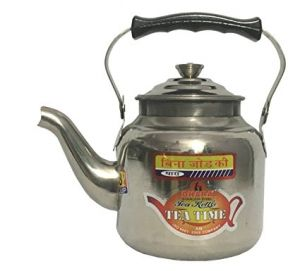 Dhara Stainless Steel Tea Serving Kettle - 16 Cup