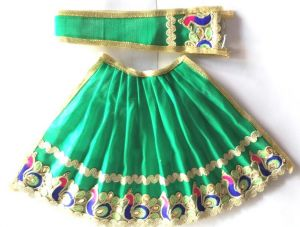 Classic Mor Border Lehanga For Matarani / Designer Lehanga For Mataji