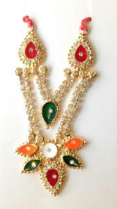 Designer Heavylook Diamond Work Neckless For Laddu Gopal / Haar For Bal Gopal