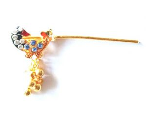 Mor Design Bansuri / Attractive Peacock Bansuri / Flute For Bal Gopal