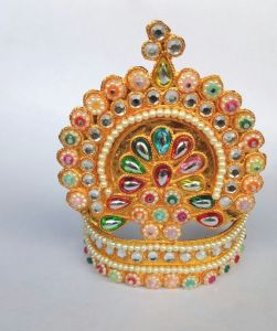 Designer Mukut For God / Mukut For Matarani / Mukut For Laddu Gopal