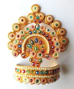 Laddu Gopal Designer Mukut For Shringar / Mukut For Matarani