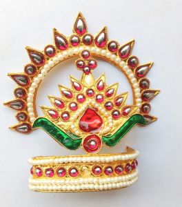 Beautiful Mukut For God / Designer Mukut For Laddu Gopal
