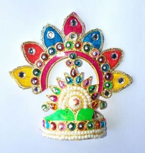 Bal Gopal Mukut Shringar / Mukut For God / Mukut For Ganpati