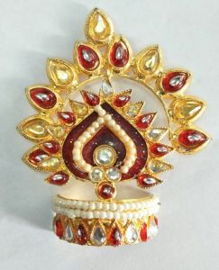 Designer Mukut For Laddu Gopal / Mukut Shringar For Thakurji / Mukut For Bal Gopal