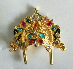 Heavy Look Mukut For Bal Gopal Shringar / Mukut For Laddu Gopal