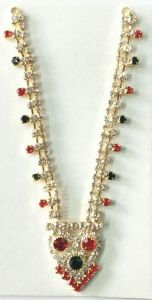 Beautiful Neckpiece For God / Designer Haar For Bal Gopal / Haar Shringar