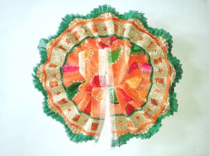 Laddu Gopal Silk Net Poshak ( 2 No.)