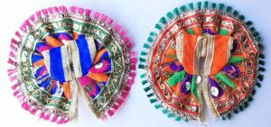 Elegent Simple Look Poshak For Thakurji / Poshak For Laddu Gopal (0no) - 2 PCs