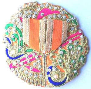 Preety Kundan Work Poshak For Thakurji / Poshak For Laddu Gopal (0no)