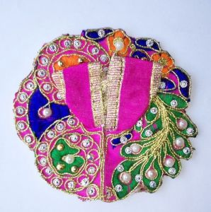 Beautiful Colourful Poshak For Laddu Gopal / Designer Poshak For Thakurji (0no)