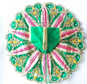 Gotapatti Poshak For Laddu Gopal / Leaf Design Poshak For Bal Gopal
