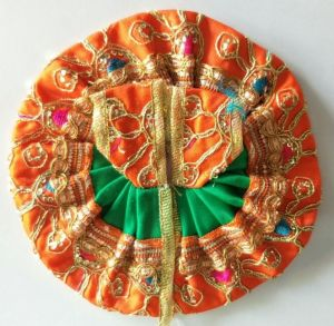 Elegent Poshak For Thakurji / Designer Poshak For Laddu Gopal Shringar