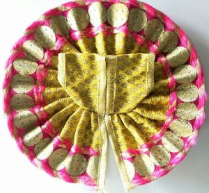 Classic Poshak For Bal Gopal Shringar / Designer Poshak For Laddu Gopal