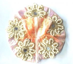Moti Work Flower Poshak For Laddu Gopal / Designer Heavy Poshak ( 2 No)