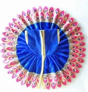 Designer Leaf Woolen Poshak / Beautiful Poshak For Laddu Gopal Shringar (5 No)