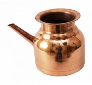 Pure Copper Ramjhar / Copper Kalash / Gangotri Kalash Lota