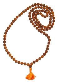 Rudraksha Mala Of 108 Divine Beads Of 4 MM Size