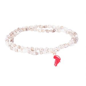 Shankh Mala For Goddess Laxmi / Small Conch Shell Mala For Laxmi Puja
