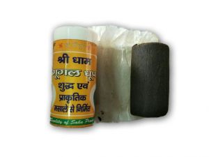 Shree Dham Guggal Dhoop / Pure Wet Guggal Dhoop - 2 PCs
