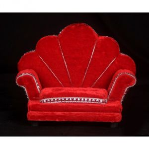 Velvet Sofa For God / Singhasan For God / Singhasan For Bal Gopal