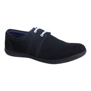Monkx-lace Up Casual Shoes For Men_1003-4-black