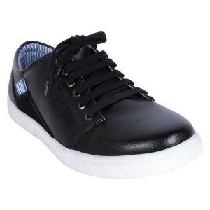 Fine Arch-canvas Casual Shoes For Men_asf-120-black