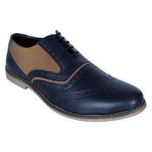 Monkx-lace Up Casual Shoes For Men_blm-708-blue