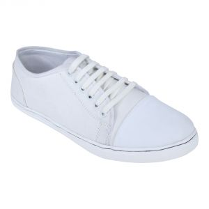 Monkx-lace Up Casual Shoes For Men_blx-10-white