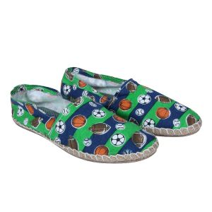 Fine Arch-printed Espadrilles For Men_espa-10-green